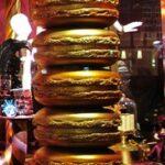pila macarons gold